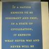 Quotation In Jefferson Memorial