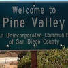 Welcome To Pine Valley Sign