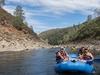 Rafting In Folsom Reservoir - American River CA