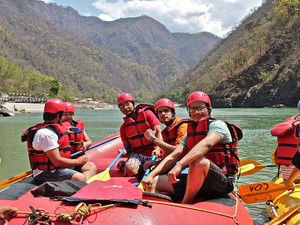 Rafting in Rishikesh Photos