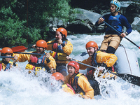 Rafting in the Osumi Kanyon
