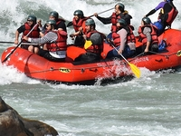 Holiday Trip @Rishikesh Rafting Kayaking in Rishikesh