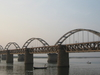 Rail Bridge Godavari