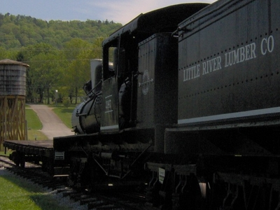 70-ton Shay Engine At The Little River Railroad Museum