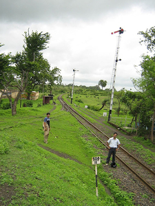 Railway Route Mhow And Khandwa