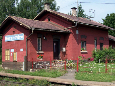 Railway Station In The Village