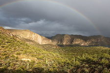 Rainbow At Canyon Lake