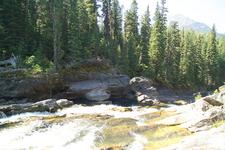 Rainbow Falls - Glacier - Montana - USA