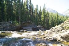 Rainbow Falls Trail - Glacier - Montana - USA