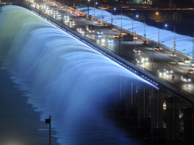 Rainbow Fountain  Seoul