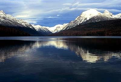 Rainbow Peak - Glacier - USA