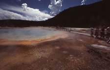 Rainbow Pool - Yellowstone - USA