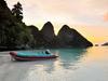 Raja Ampat Sunset - Papua Guinea