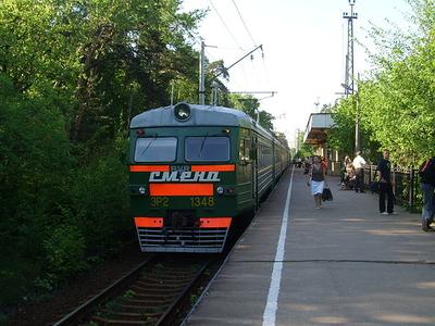 Razliv Railway Station