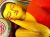 Reclining Buddha At Isurumuniya Temple