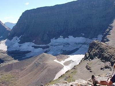 Red Eagle Glacier At Far Left