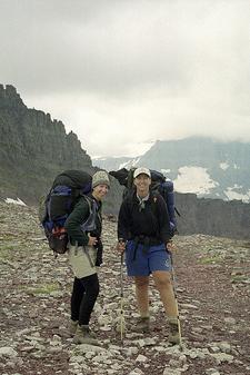 Redgap Pass Trail - Glacier - Montana - USA
