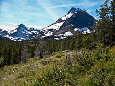 Redrock Falls Trail At Glacier - Montana - USA