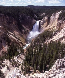 Red Rock Point - Yellowstone - USA