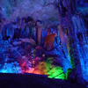 Reed Flute Cave Lit Up With Flurorescences