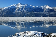 Reflection Along Turnagain Arm
