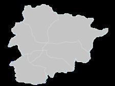 Regional Map Of Andorra