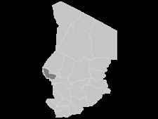 Regional Map Of Chad