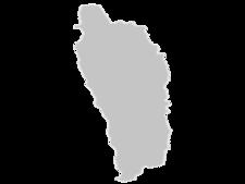 Regional Map Of Dominica