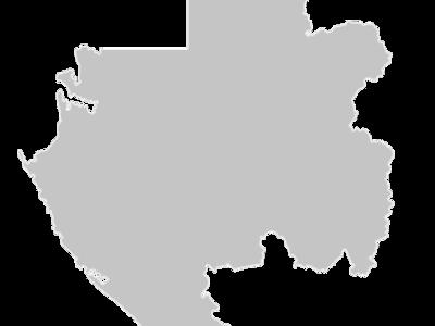 Regional Map Of Gabon