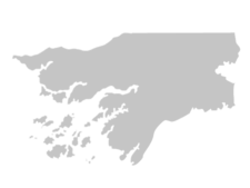 Regional Map Of Guinea-Bissau