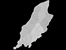 Regional Map Of Isle Of Man