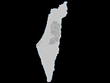Regional Map Of Palestine
