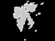 Regional Map Of Svalbard