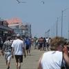 Rehoboth Beach Boardwalk At Wilmington Avenue Looking North
