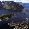 Reine Seen From Top Of Reinebringen - Lofoten