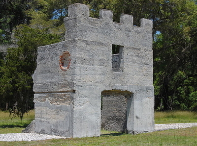 Remains Of Fort Frederica Barracks