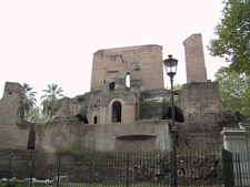 Remains Of The Fountain At Piazza