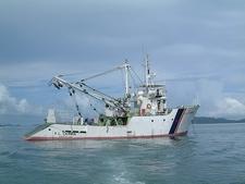 Research Vessel In Strait Of Malacca