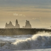 Reynisdrangar - Basalt Seastacks - Vik - South Iceland