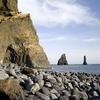 Reynisdrangar Cliffs In South Iceland