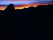 Rhyolite Sunset