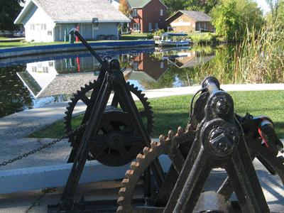 Rideau Canal Locks In Merrickville