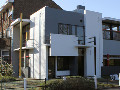 The Exterior Of The Rietveld Schroder House