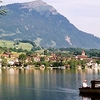 Rigi Behind Lake Lauerz