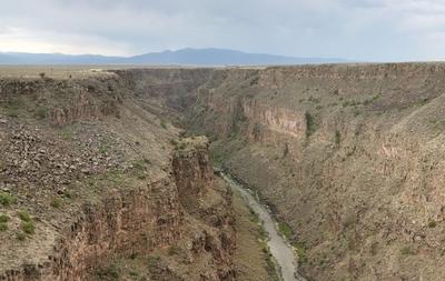 Rio  Grande  Gorge Pano