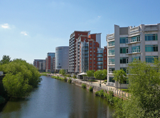 River Aire Waterfront Leeds