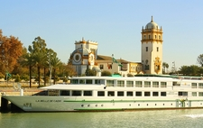River Boat Cruise At Seville - Andalusia Spain