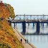 Riverfront Park Near Harvey Taylor Bridge - Harrisburg PA