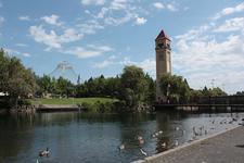 Riverfront Park Pond