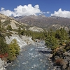 River In Nepal Sagarmatha NP